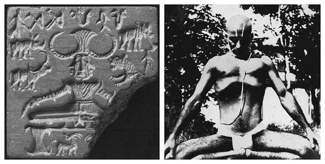 History of Yoga Mulabandhasana