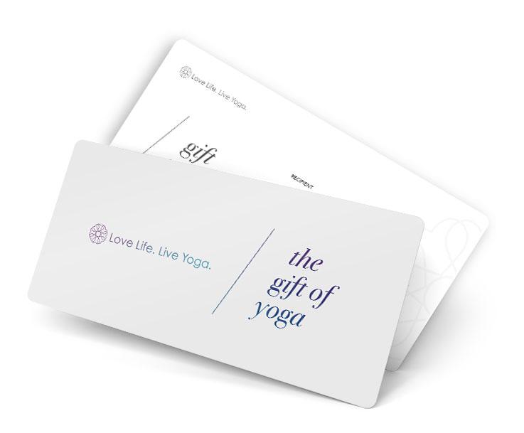Yoga Gutschein Gift Voucher